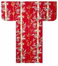 KIN TAKE- Golden Bamboo - (WOMEN: Cotton KIMONO)