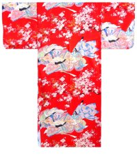 SAKURA OCHO - Junihitoe Princesses of Dynasty in Cherry Blossoms - (WOMEN: Polyester KIMONO)