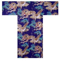 RYUWASHI - Dragon and Eagle - (MEN: Cotton KIMONO)