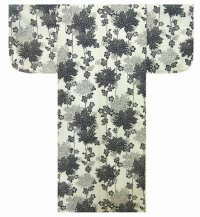 KIKU - Chrysanthemum - (WOMEN: Cotton YUKATA)
