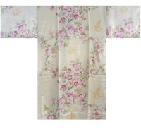 SAKURAMOJI - Cherry Blossoms - (WOMEN: Polyester HAPPI)