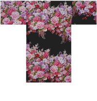 FUJIUME - Thousands of Flowers - (WOMEN: Cotton HAPPI)