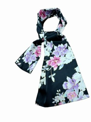 Photo1: Special Offer!  Japanese Silk Stole - RAN -