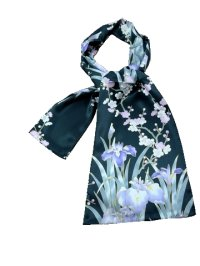 AYAME - Iris and Plum - (SILK STOLE)