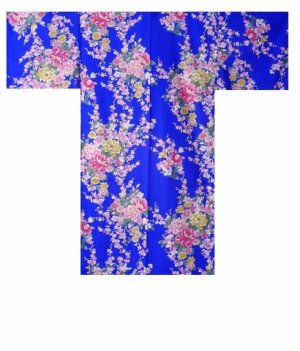 Photo4: BOTANRAN - Peony and Orchis - (WOMEN: Cotton HAPPI)