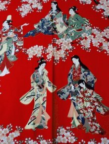 OTHER IMAGES1: HANAMI - bloom gazing - (WOMEN: Cotton KIMONO)