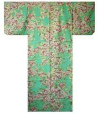 SAKURA ZUKUSHI - Brilliant Cherry Blossoms - (WOMEN: Cotton YUKATA)