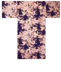 SAKURA ZUKUSHI - Brilliant Cherry Blossoms - (WOMEN: Cotton HAPPI)