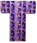 Photo4: SHIMA TACHISUGATA - Geisha Beauty on Stripe - (WOMEN: Cotton YUKATA) (4)