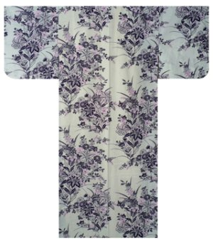 Photo2: YURI - Lily - (WOMEN: Cotton YUKATA)
